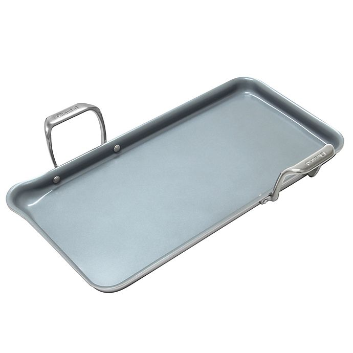 Alternate image 1 for Chantal® Nonstick Ceramic Coated Induction 21 Steel™ 19-Inch x 9.5-Inch Griddle