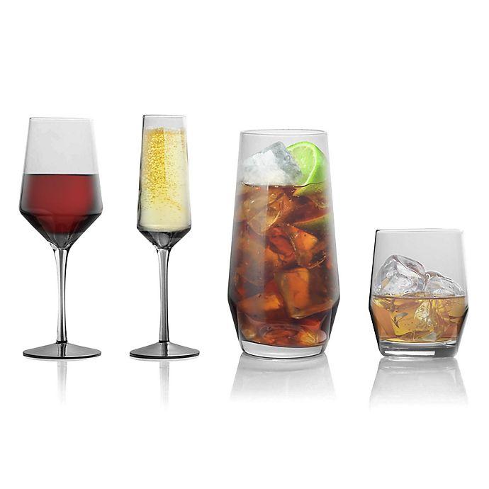 Alternate image 1 for Mikasa® Swirl Edge Wine & Bar Collection in Smoke