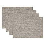 Casual Twist Rib Placemats in Beige (Set of 4)