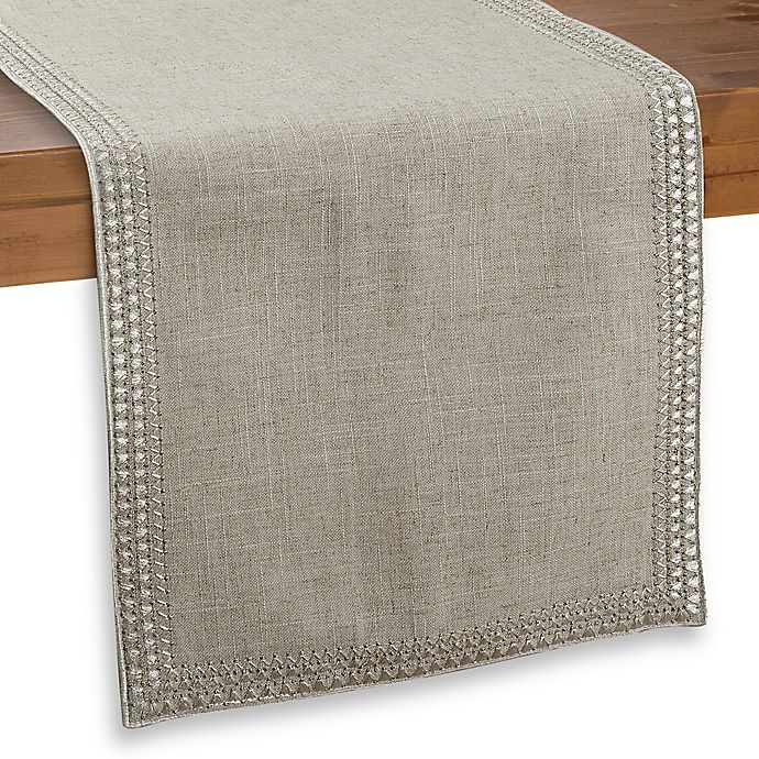 Alternate image 1 for Homewear Superion 54-Inch Table Runner in Natural