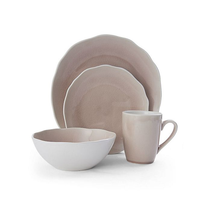 Alternate image 1 for Mikasa® Dahlia 16-Piece Dinnerware Set