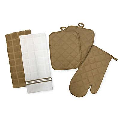5-Piece Quilted Kitchen Linen Set