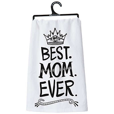 "Primitives by Kathy® ""Best Mom Ever"" Kitchen Towel"