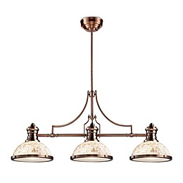 Elk Lighting Chadwick 3-Light Island/Billiard Chandelier