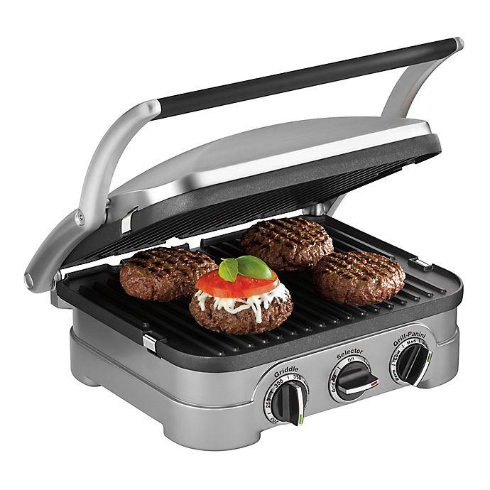 Alternate image 1 for Cuisinart® Griddler with Bonus Waffle Plates