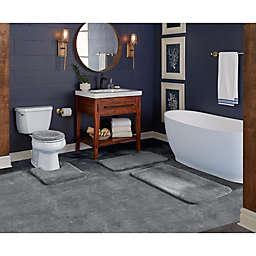 "Wamsutta® Duet Cut to Fit 60"" x 72"" Bath Carpeting in Pewter"