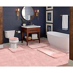 """Wamsutta® Duet Cut to Fit 60"""" x 72"""" Bath Carpeting in Rose"""