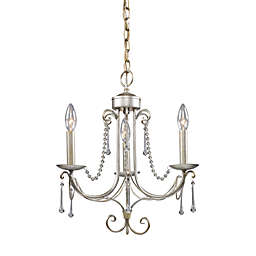 ELK Lighting Cambridge 3-Light Chandelier in Antique Silver