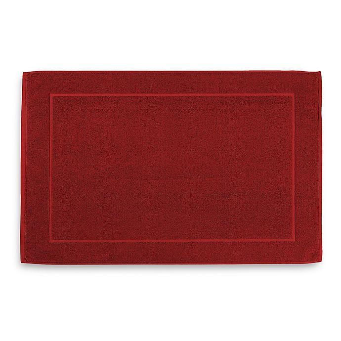 Alternate image 1 for Wamsutta® Hygro® Duet Bath Mat in Wine