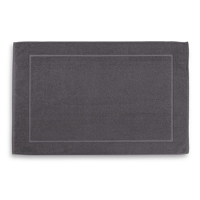 Alternate image 1 for Wamsutta® Hygro® Duet Bath Mat in Iron