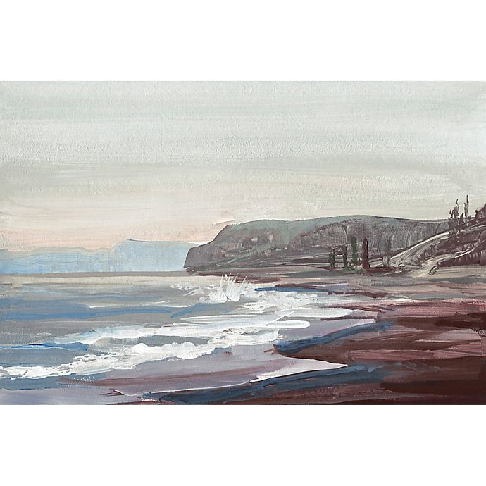 Alternate image 1 for Marmont Hill Along the Shore 12-Inch x 8-Inch Canvas Wall Art