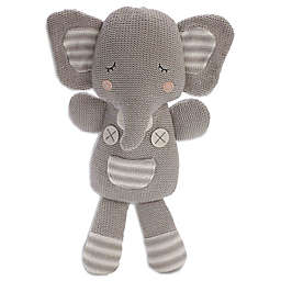 Living Textiles Theodore Elephant Plush Toy in Grey