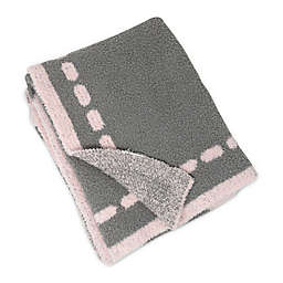 Living Textiles Heart Chenille Baby Blanket in Pink