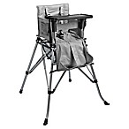 One2Stay 2.0 Portable High Chair in Grey