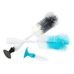 Evenflo® 2-in-1 Bottle Brushes with Nipple Brush (Set of 2)
