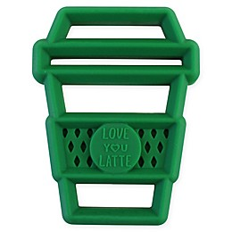 Itzy Ritzy® Silicone Latte Teether in Green
