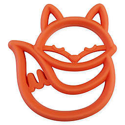 Itzy Ritzy® Silicone Fox Teether in Orange