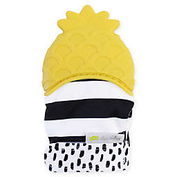 Itzy Ritzy® Silicone Pineapple Teething Mitt in Yellow