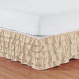 Elegant Comfort Multi-Ruffle Bed Skirt