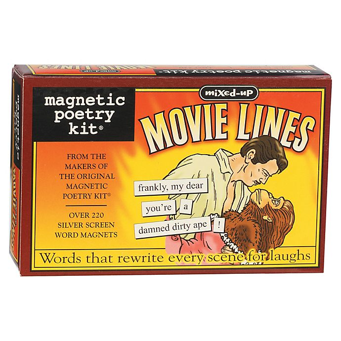 Alternate image 1 for Magnetic Poetry Kit: Mixed Up Movie Lines
