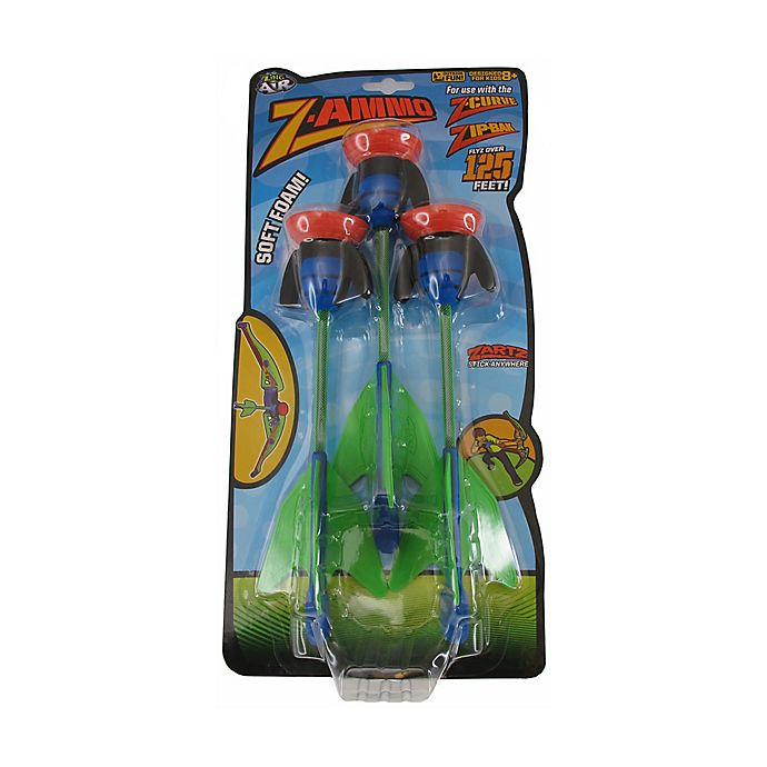 Alternate image 1 for Zing Toys Z-Curve Bow Foam Arrows Refill Pack