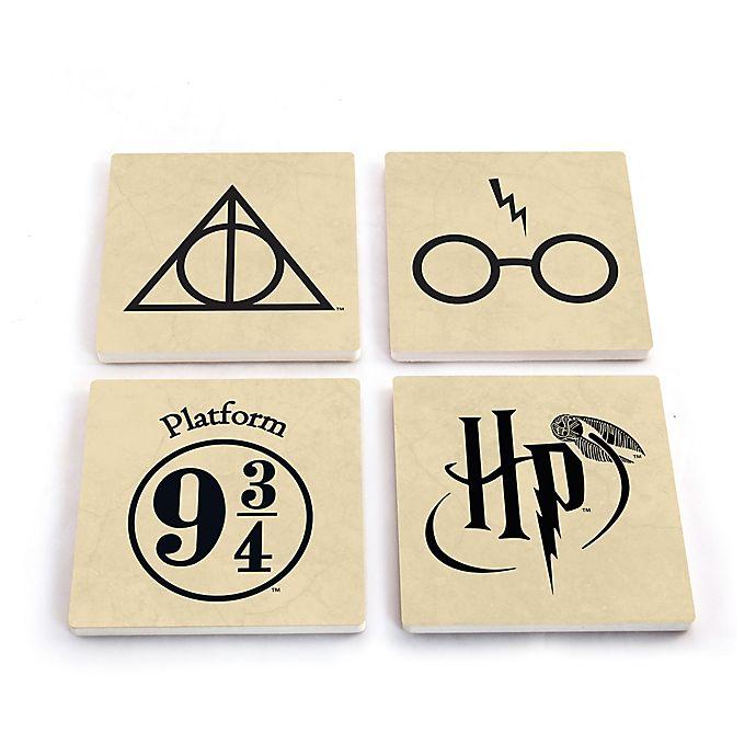 Alternate image 1 for Harry Potter Stone Coasters (Set of 4)