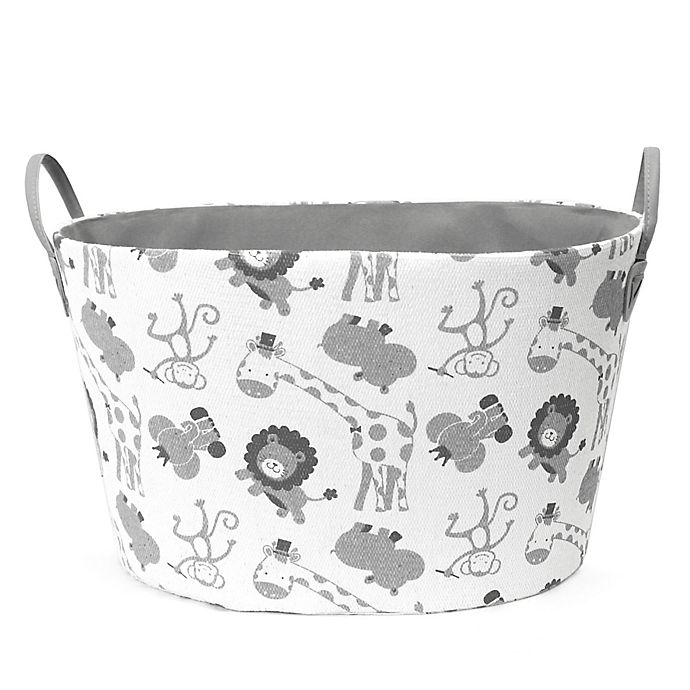 Alternate image 1 for Taylor Madison Designs® Safari Oval Storage Bin