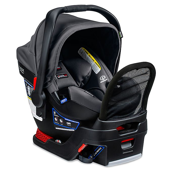 Alternate image 1 for BRITAX® Endeavours Cool N Dry Collection Infant Car Seat in Charcoal