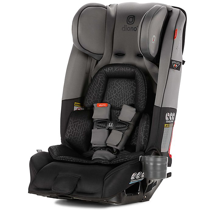 Alternate image 1 for Diono Radian 3 RXT All-in-One Convertible Car Seat in Grey Dark