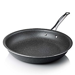 Granitestone Diamond™ Titanium Nonstick Aluminum Round Fry Pan in Black
