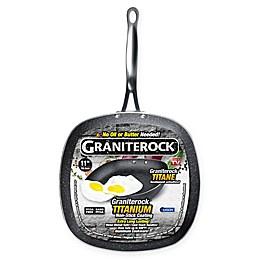 Granite Rock™ Titanium Nonstick Aluminum 11-Inch Square Fry Pan in Black