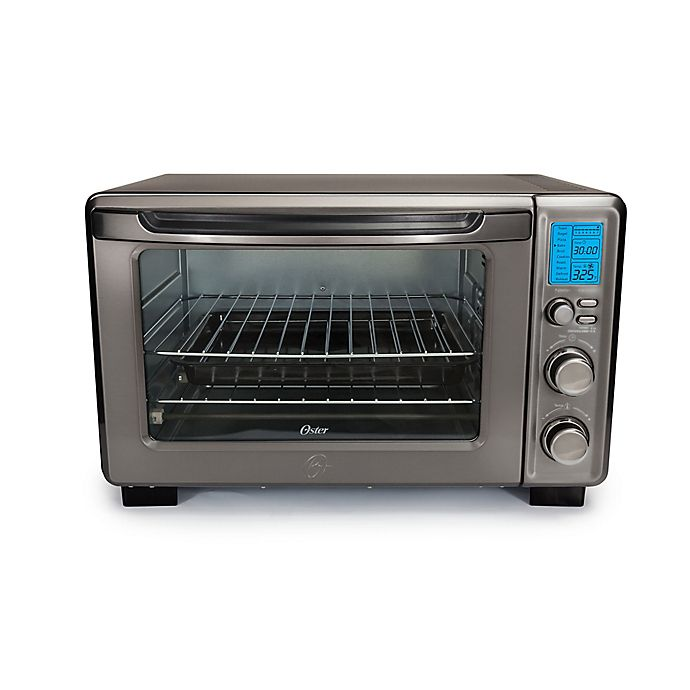 Alternate image 1 for Oster® Toaster Oven in Black Stainless