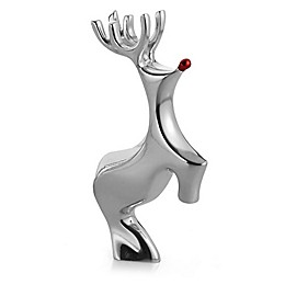 Nambe Miniature Red-Nosed Reindeer