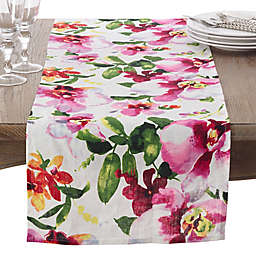 Saro Lifestyle Fiore 72-Inch Table Runner