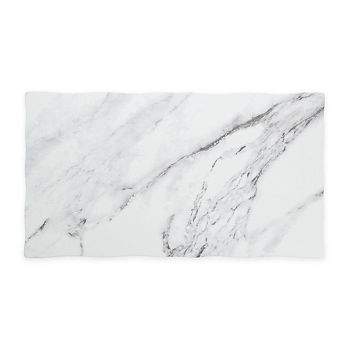 Alternate image 1 for Palace Bianco 18-Inch Rectangular Melamine Tray