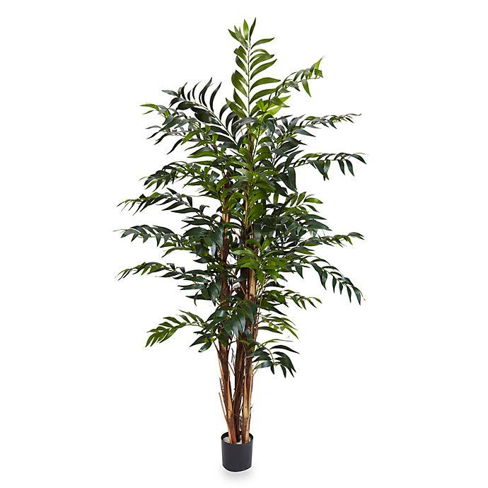 Nearly Natural 5 Foot Bamboo Palm Silk Tree