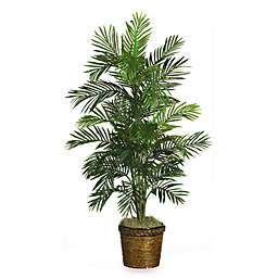 Nearly Natural 56-Inch Areca Faux Silk Palm Plant
