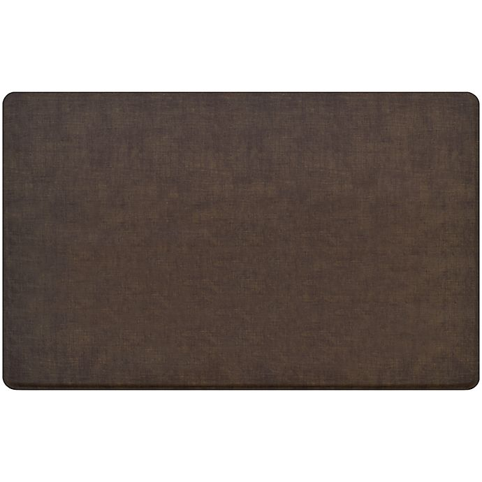 "Woven Kitchen Rugs: GelPro® Classic Woven 30"" X 48"" Kitchen Mat In Brownie"