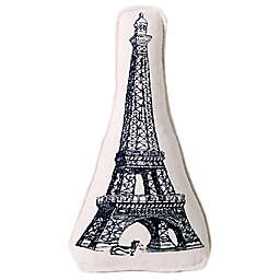 Harry Barker Eiffel Tower Canvas Multicolor Dog Toy