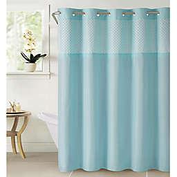 Hookless® Bahamas Eyelet Shower Curtain in Crystal