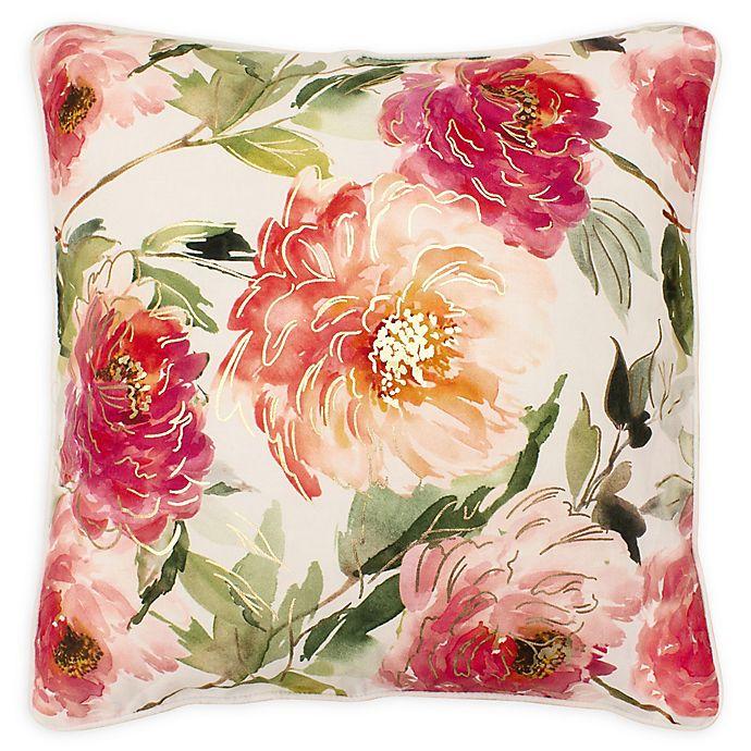 Alternate image 1 for Boho Living Celeste Decorative Pillow in White