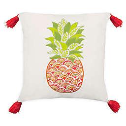 Boho Living Aloha Square Throw Pillow