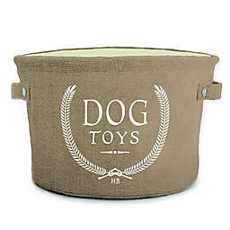 Harry Barker Toy Storage Bin in Brown
