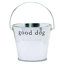 Harry Barker Good Dog GIft Basket in Silver