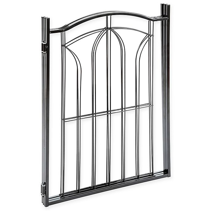 Eastender 3 Section Metal Gate In Black Bed Bath Amp Beyond