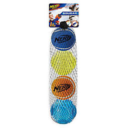 Nerf® Dog 4-Piece Squeak Tennis Ball and Sonic Ball Set