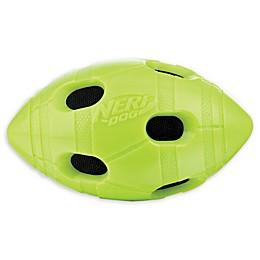 Nerf Dog 6-Inch Bash Crunch Football in Green