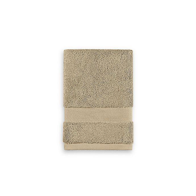 Alternate image 1 for Wamsutta® 805 Turkish Cotton Washcloth in Latte