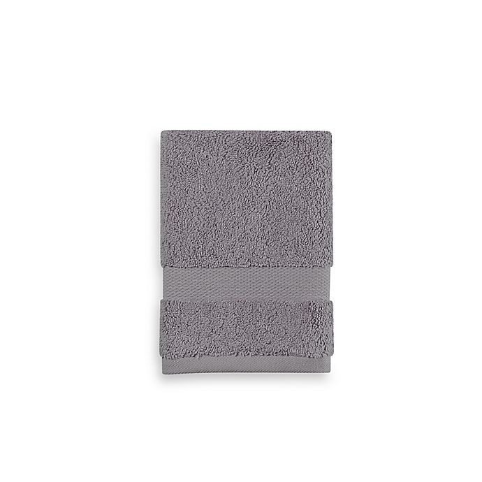 Alternate image 1 for Wamsutta® 805 Turkish Cotton Washcloth in Slate