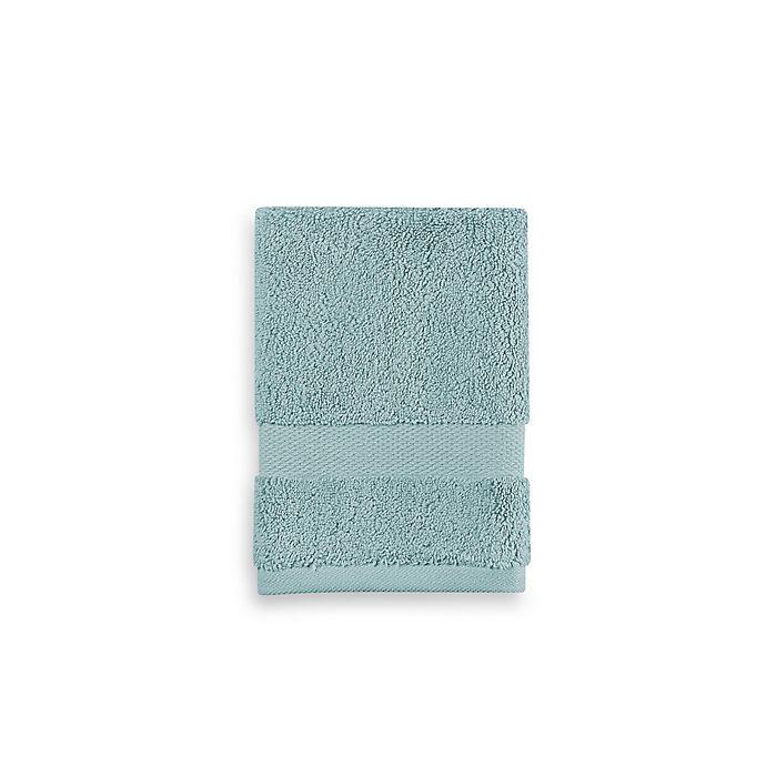 Alternate image 1 for Wamsutta® 805 Turkish Cotton Washcloth in Aqua